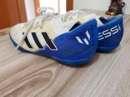 Chuteira futsal adidas Messi, tamanho 27, infantil, pouco utilizada, Original
