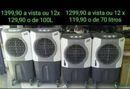 Climatizador Evaporativo Ventisol CLI 100 Litros PRO e CLI 70 Litros PRO (LEIA DESCRIÇÃO)