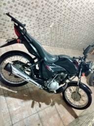 Honda Cg Fan 125cc preta - 2012