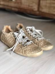 Osklen tênis ORIGINAL Palha Dourada