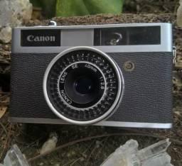 Canon Canonet Junior + capa original -aceito cartao