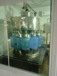 Fonte de agua funcionando
