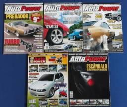 Revistas Auto Power (Lote de 5 revistas)