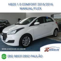 Hyundai HB20 1.0 Comfort 2015/2016