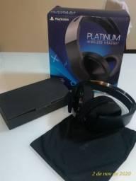 Fone PS4 Platinum. Usado