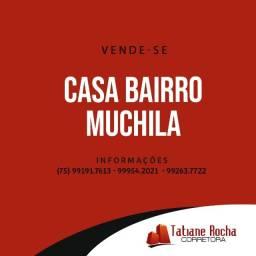 Vendo - Casa em Residencial Fechado no Bairro Muchila I