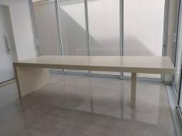 Mesa de jantar marmore silestone 3.05 X 1.00