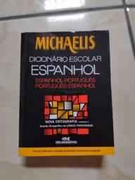 Título do anúncio: Dicionário de Espanhol Michaelis - entrego em estação de trem