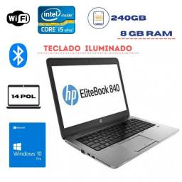 Notebook Elitebook HP 840 i5 4th ssd240