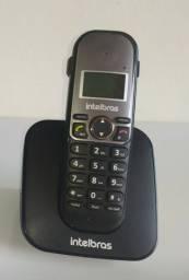 Telefone s/ fio c/ identificador de chamadas
