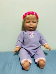 Boneca Miracle Baby Perfeita Funcionando