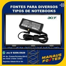 Título do anúncio: Fonte Notebook Acer Ponta Padrão
