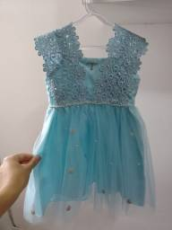 Vestido Azul Tam: 1 ano