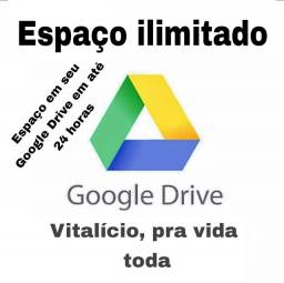 Ssd Espaço ilimitado Google drive