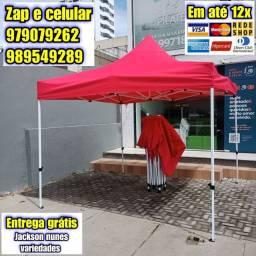 Título do anúncio: Tenda Sanfonada 3x3m reforçada
