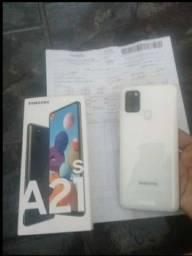 Samsung A21S  com 9 meses de uso , completo