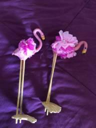 Toper bolo flamingo