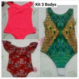 Kit 3 Bodys PROMOÇÃO