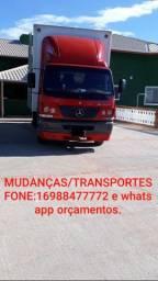 Mudanças transportes orçamentos  confira ja