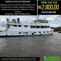 .. Venha Fazer sua Reserva, Alugamos Lanchas em Manaus