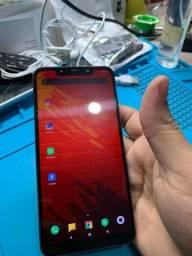 Xiaomi pocofone F1 6 gigas de memória ham 64 gigas de armazenamento