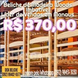 Beliche Madeira Maciça Woods Sem Comparação