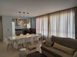 Locação anual - Apartamento com 3 suíte mobiliado e equipado no Bairro Pioneiros