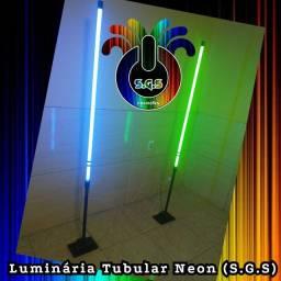 Luminária tubular neon S.G.S