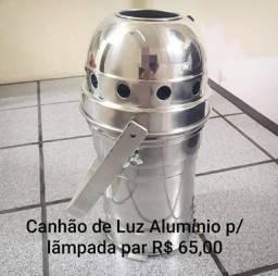 Canhão de Luz alumínio Art Ilumi p/ lâmpada par 64
