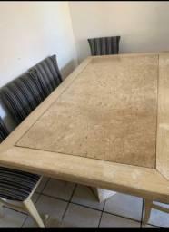 Vendo linda mesa de mármore