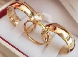 Alianças Compromisso casamento
