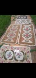 Utensílios, aspirador, tapetes e grelhas c espeto