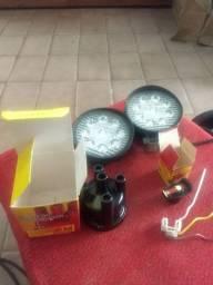 Tampa de detribuidor e rotor e farol de milha