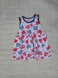 Título do anúncio: Vendo roupas infantis 0/4 anos