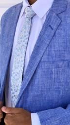 Terno Azul Melange