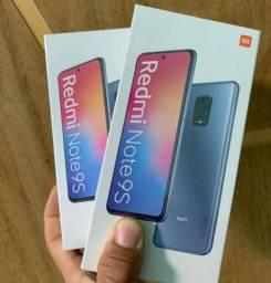 Xiaomi Note 9s 64GB tela 6,67 lacrados novos