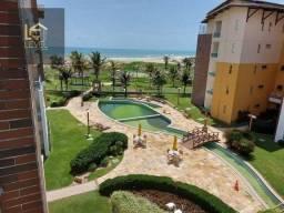 Apartamento com 3 dormitórios para alugar, 110 m² por R$ 5.300,00/mês - Porto das Dunas -