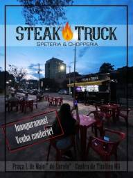 Título do anúncio: Steak Truck Trailer Alto Padrão 4,00 x 2,20 mts semi novo