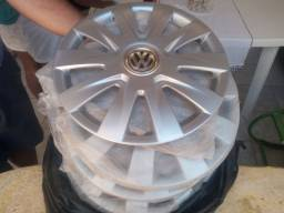 Título do anúncio: Vendo 4 Carlotas aro 15 Volkswagen originais