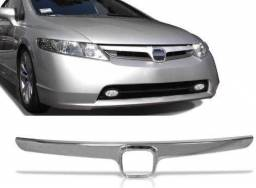 Tela cromada do Honda civic 07 08