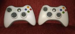 2 Controles originais Xbox360 (leia a descrição)