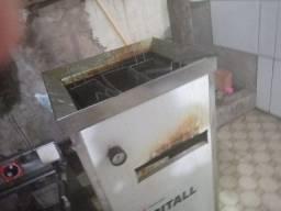 Fritadeira a gás industrial