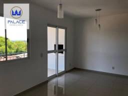 Apartamento com 3 dormitórios à venda, 74 m² por R$ 280.000 - Gleba Califórnia - Piracicab