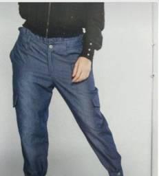 calça jeans jogger Auditoria