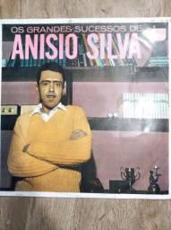 Vinil LP Grandes sucessos de Anísio Silva