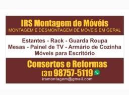 Título do anúncio: Montador de móveis , consertos E fabricação Ligue !!