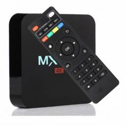 Conversor Smart TV Box MX9 4K Ultra HD Wi-Fi Android