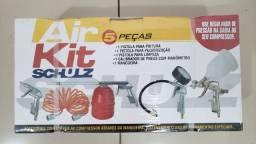 Kit de Ar com 5 peças para compressor - Air Kit 5 Peças - Schulz