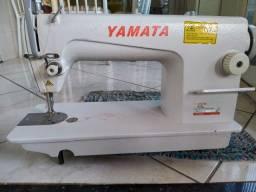 Maquina de costura retro industrial
