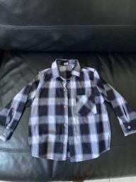 Camisa xadrez - 2 anos